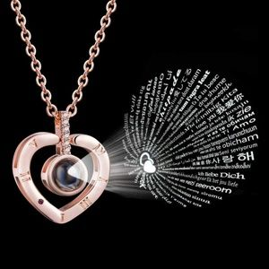 I Love You in 100 languages Necklace